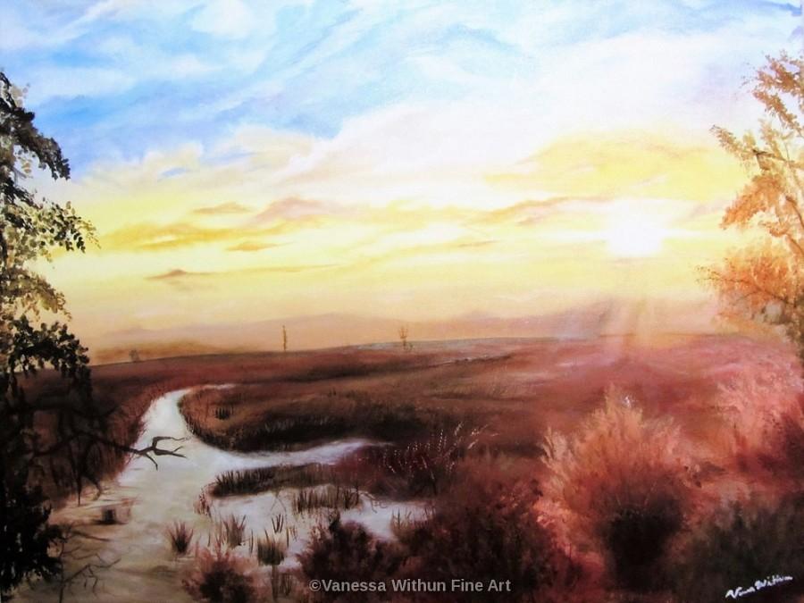 Sunset in Savannah Watermarked