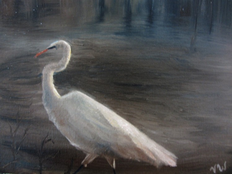 An Egret's Walk.jpg