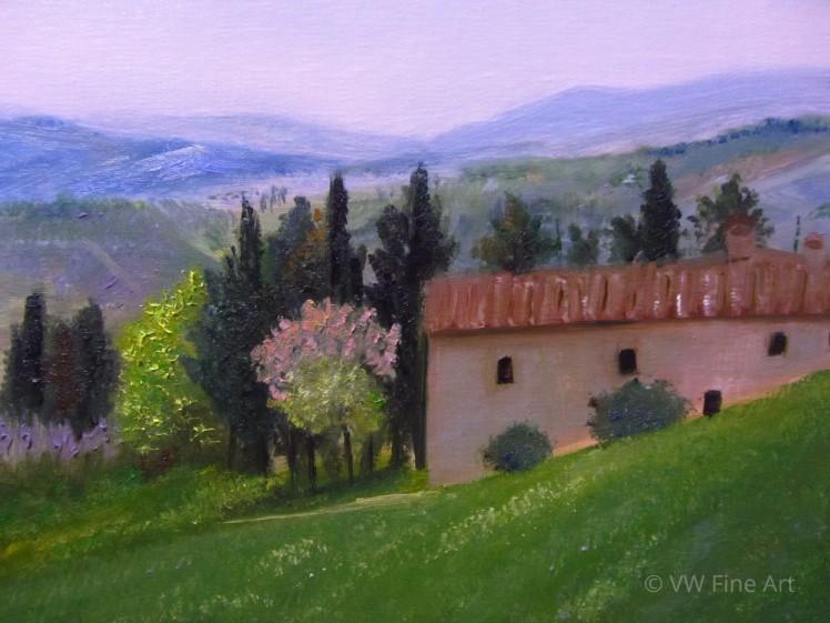 Hills of Tuscany Watermark