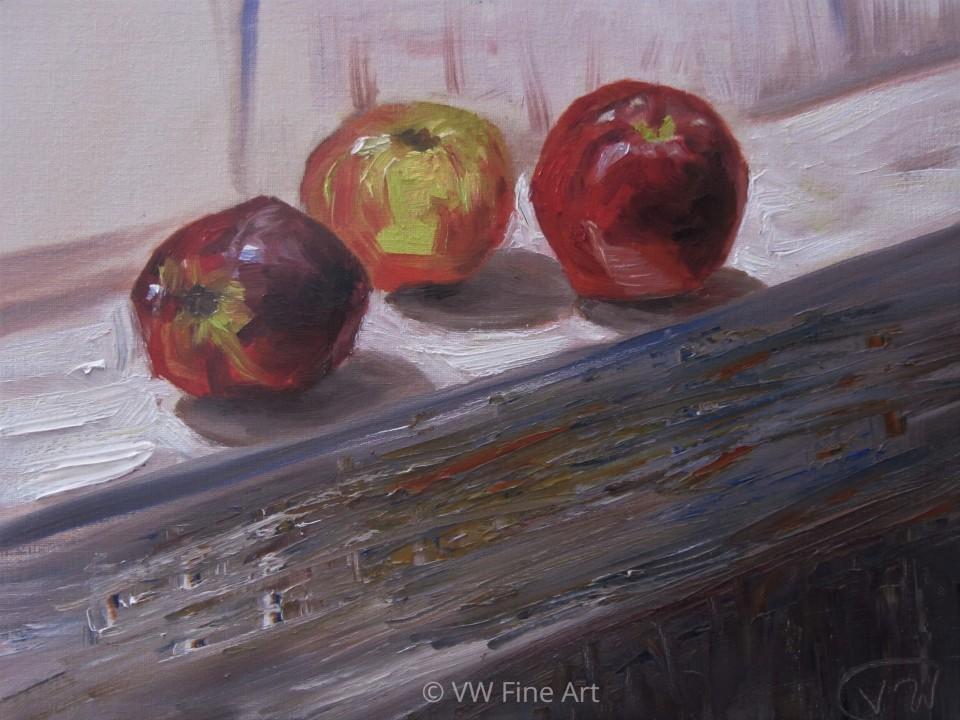 tres manzanas watermarked