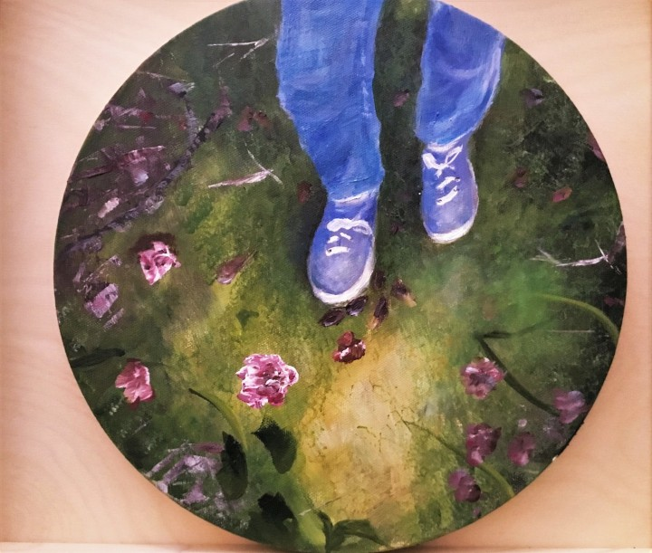 look down_acrylic on 12 inch canvas_vanessa withun_2019 edit 1