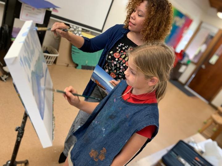 Teaching student 1