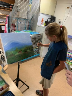 Teaching student 10