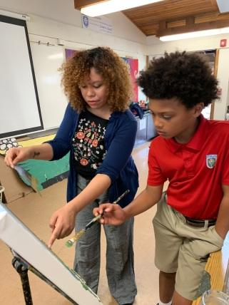 Teaching student 11