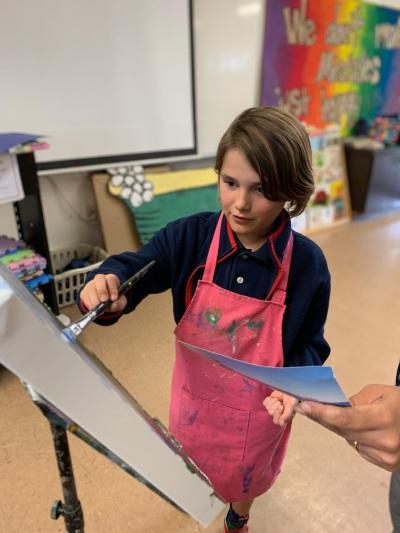 Teaching student 5