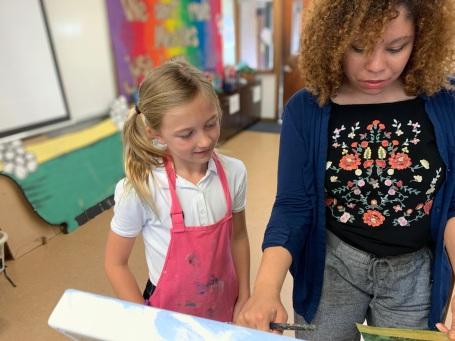 Teaching student 7