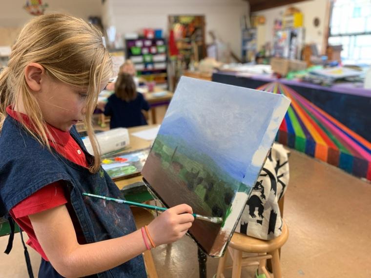 Teaching student 8